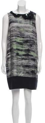 Robert Rodriguez Silk Embellished Dress