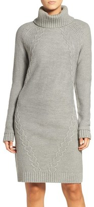 Women's Eliza J Cable Knit Sweater Dress $108 thestylecure.com
