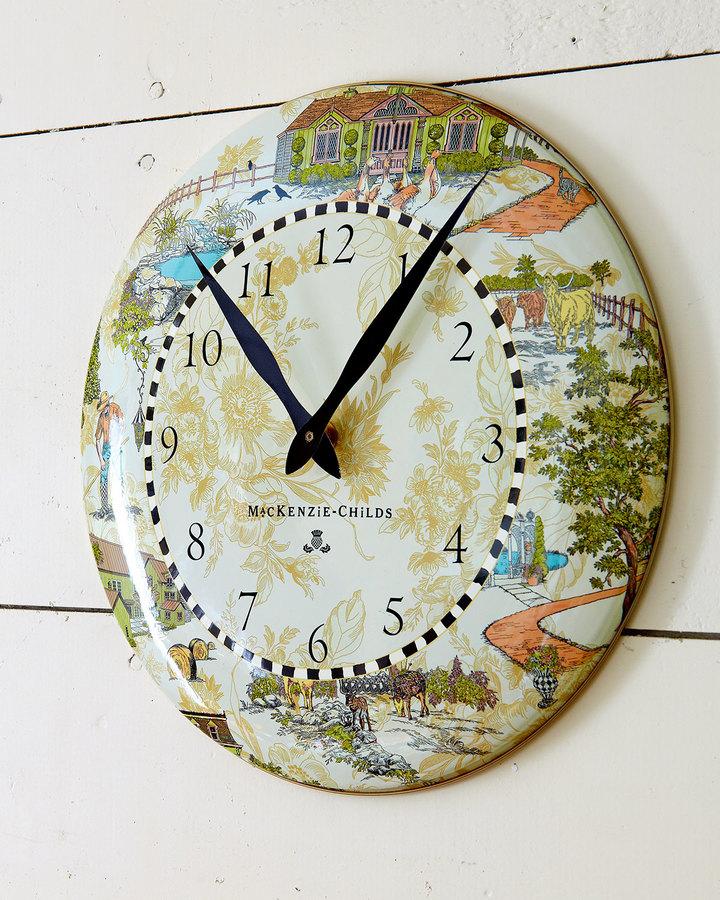 Mackenzie Childs MacKenzie-Childs Aurora Clock