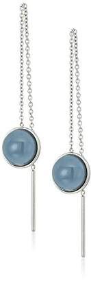 Skagen Sea Glass -Tone Threader Earrings