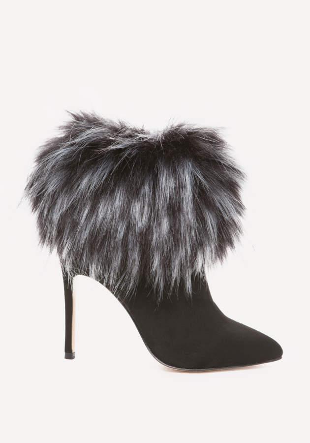 Mynka Faux Fur Booties