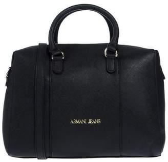 Armani Jeans Black Faux Leather Bags For Women - ShopStyle UK 4d8793cc9dc3d