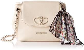 Love Moschino Moschino, Women's Shoulder Bag, Elfenbein (Ivory), 10x18x26 cm (B x H T)
