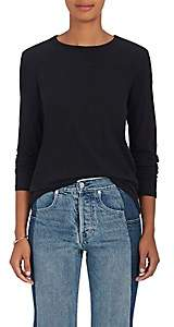 Rag & Bone Women's Slub Cotton Long-Sleeve T-Shirt - Black