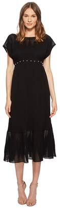 RED Valentino Zagana Embroidery Knit Dress with Boules Women's Dress