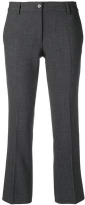 Alberto Biani creased cropped trousers
