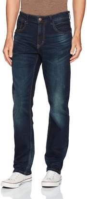 UNIONBAY Men's Stretch Straight Leg Denim Jean
