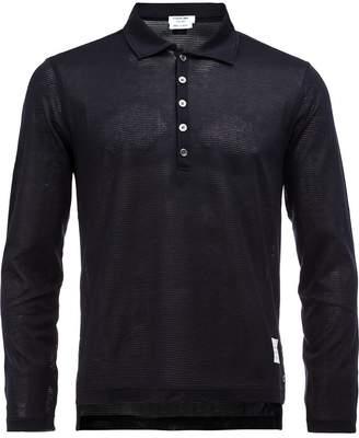 Thom Browne longsleeved polo shirt