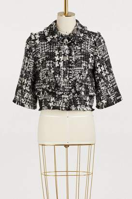 Dolce & Gabbana Short tweed jacket