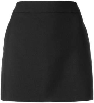 Saint Laurent basic plain skirt