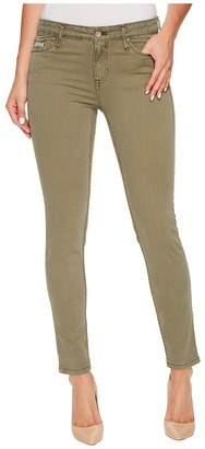 Calvin Klein Jeans - Garment Dyed Ankle Skinny Pants in Ivy Mist Women's Jeans $69.50 thestylecure.com