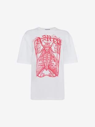Alexander McQueen Framed Moth T-Shirt