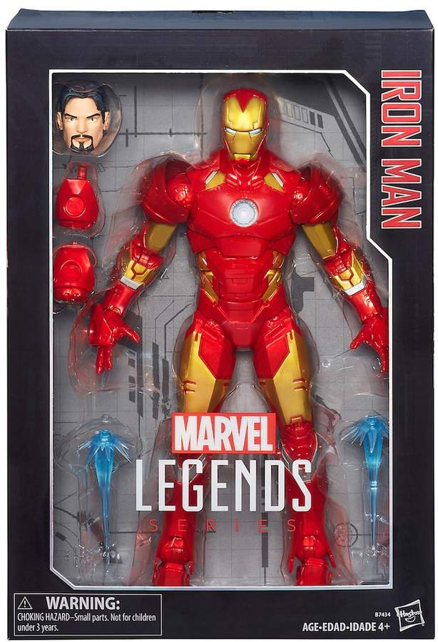 Hasbro Marvel Legends Series 12-in. Iron Man Figure by Hasbro