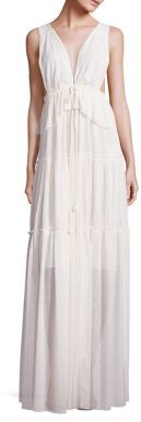 See by Chloe Sleeveless Pleated Gown