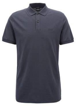 BOSS Hugo Regular-fit polo shirt in fine pique L Dark Blue