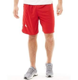adidas Mens Ekit Basketball Shorts Power Red/White
