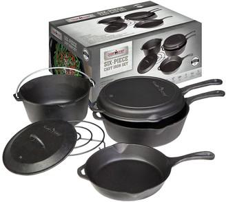 Camp Chef 6-Piece Cast-Iron Cookware Set
