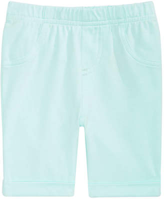 First Impressions Baby Girls Pull-On Bermuda Shorts