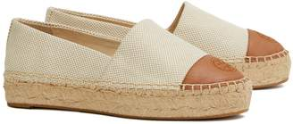 Tory Burch COLOR-BLOCK PLATFORM ESPADRILLE
