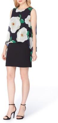 Women's Tahari Floral Popover Sheath Dress $128 thestylecure.com