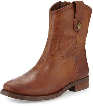 Vince Camuto Payatt Western-Style Bootie, Warm Cognac $129 thestylecure.com