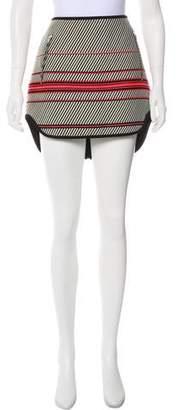 Rag & Bone Patterned Mini Skirt