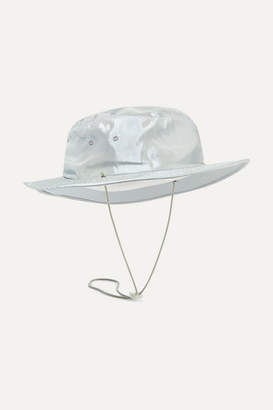 CLYDE Trail Rope-trimmed Shell Hat - Sky blue