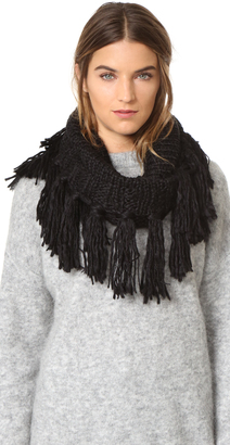 Hat Attack Knit Loop Scarf $70 thestylecure.com