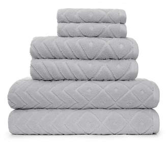 American Dawn Mabel 6 Piece Bath Towel Set Bedding