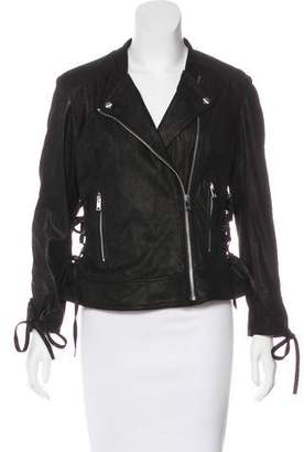 Moto LaMarque Collection Suede Jacket