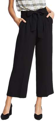 1 STATE 1.STATE Tie-Waist Wide-Leg Pants