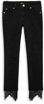 Hudson Jeans Girl's Lacey Ankle Crop Skinny Jeans