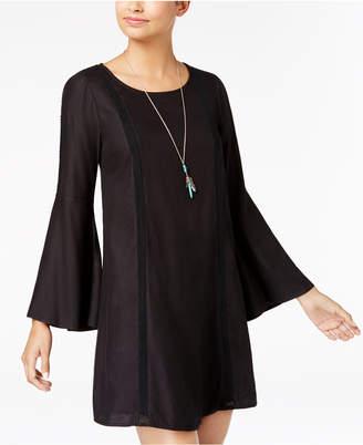 Roxy Juniors' Bell-Sleeve Shift Dress