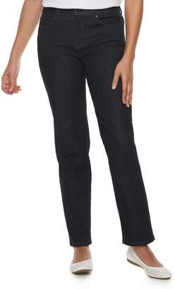 Croft & Barrow Petite Classic Stretch Straight-Leg Midrise Jeans