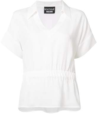 Moschino elasticated waist shirt