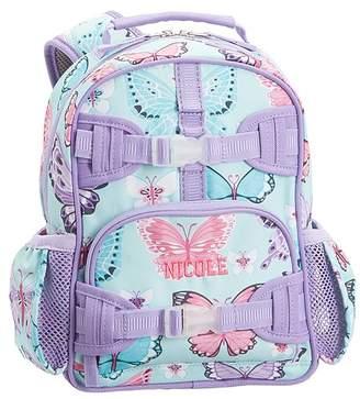 00d627437043 Pottery Barn Kids Mackenzie Aqua Lavender Pretty Butteflies Classic Lunch  Bag