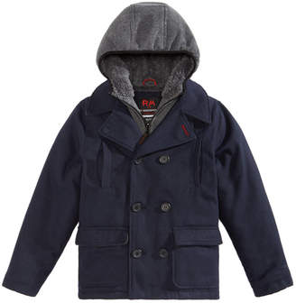 Roland Mouret 1958 Toddler Boys Ari Layered-Look Hooded Peacoat