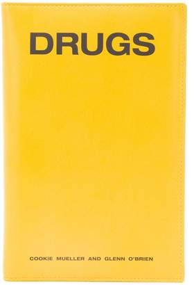 Raf Simons slogan zipped cardholder wallet