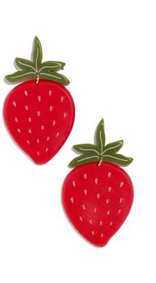 WOLL Strawberry Earrings