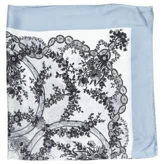Viktor & Rolf Blue Silk Scarves