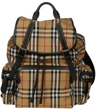 Burberry Large Vintage Check Backpack