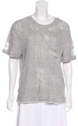 IRO Short Sleeve Knitwear Top