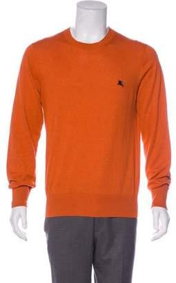 Burberry Crew Neck Equestrian Knight Sweater