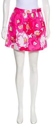 Lilly Pulitzer Printed Mini Skirt