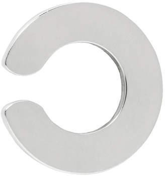 Saskia Diez Silver Disc Ear Cuff