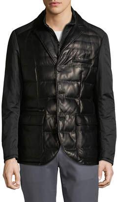 Corneliani Puffer Shirt Jacket