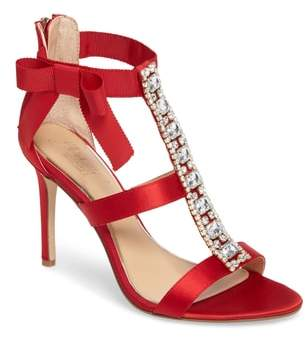 Badgley Mischka Henderson Embellished Bow Sandal