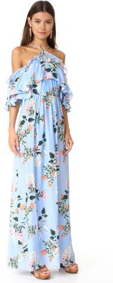 Parker Mirian Combo Dress $498 thestylecure.com