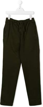 Dondup Kids TEEN drawstring waist chinos