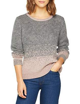 Berenice Women's ELYNE Jumper, Gris Heather Grey, Small